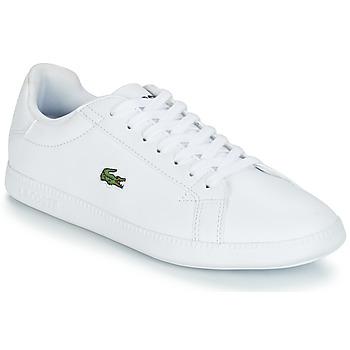 Sko Dame Lave sneakers Lacoste GRADUATE BL 1 Hvid