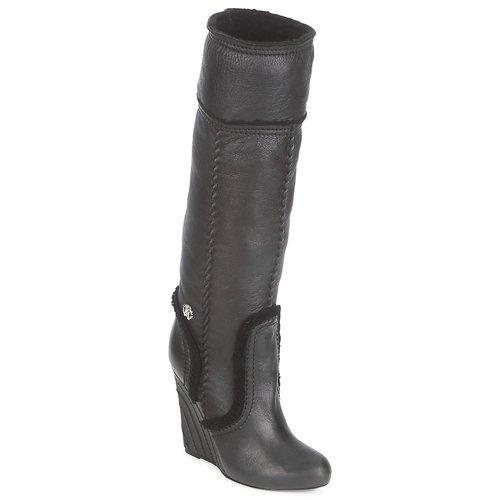 Sko Dame Chikke støvler Roberto Cavalli QDS598-PJ007 Sort