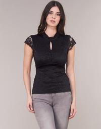 textil Dame Toppe / Bluser Morgan DNEMA Sort