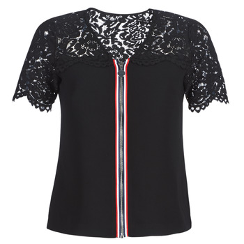 textil Dame Toppe / Bluser Morgan OSALI Sort