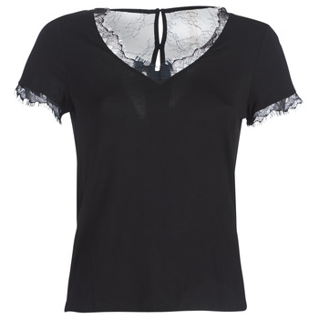 textil Dame T-shirts m. korte ærmer Morgan DMINOL Sort