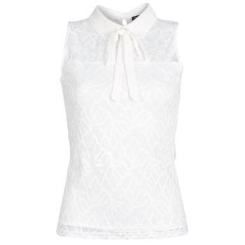 textil Dame Toppe / Bluser Morgan DINCO Hvid