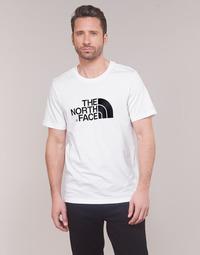 textil Herre T-shirts m. korte ærmer The North Face MEN'S S/S EASY TEE Hvid