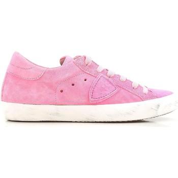 Sko Dame Lave sneakers Philippe Model CLLD XR04 Rosa acceso
