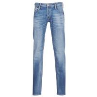 textil Herre Smalle jeans Le Temps des Cerises 711 Blå