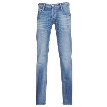 textil Herre Smalle jeans Le Temps des Cerises 711 Blå / Medium