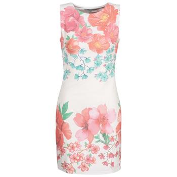 textil Dame Korte kjoler Desigual YAQUEL Hvid