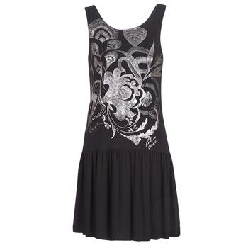 textil Dame Korte kjoler Desigual OMAHAS Sort