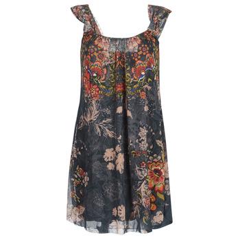 textil Dame Korte kjoler Desigual NIELS Grå