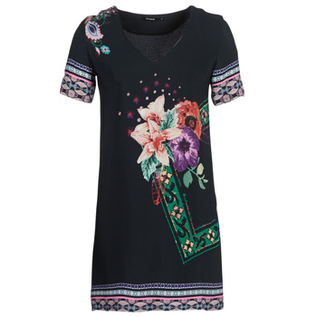 textil Dame Korte kjoler Desigual BARTA Sort