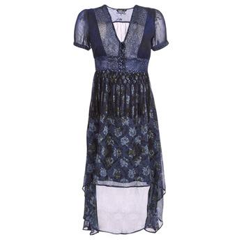 textil Dame Lange kjoler Desigual MINALI Marineblå
