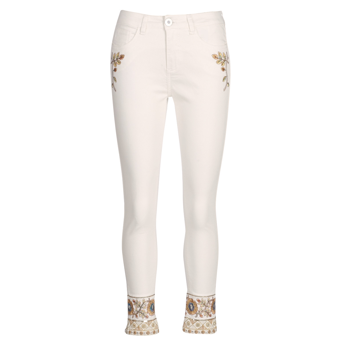 Lige jeans Desigual  SARI WHITE