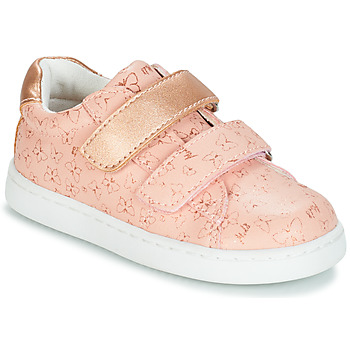 Sko Pige Lave sneakers Mod'8 OUPAPILLON Pink / Guld