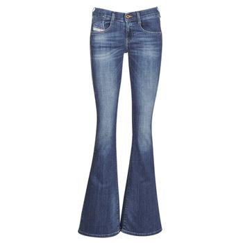 textil Dame Bootcut jeans Diesel EBBEY Blå / 089am