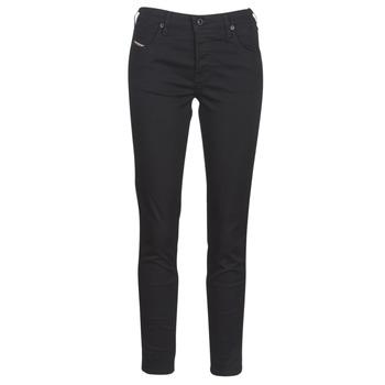 textil Dame Smalle jeans Diesel BABHILA Sort / 069ei