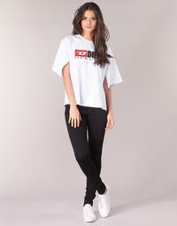textil Dame Jeans - skinny Diesel SLANDY Sort / 069ef