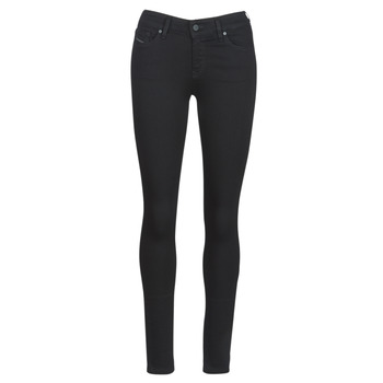 textil Dame Smalle jeans Diesel SLANDY Sort / 069ef