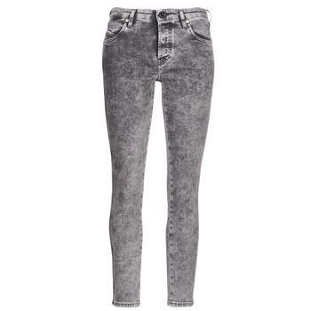 textil Dame Smalle jeans Diesel BABHILA Grå / 069fk