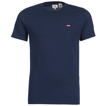 textil Herre T-shirts m. korte ærmer Levi's SS ORIGINAL HM TEE Marineblå
