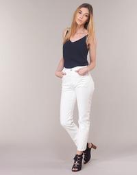 textil Dame Lige jeans Levi's 501 CROP In / The / Clouds
