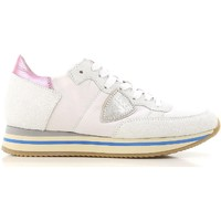 Sko Dame Lave sneakers Philippe Model THLD VP01 bianco