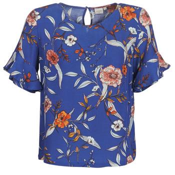 textil Dame Toppe / Bluser Cream ALLY Blå