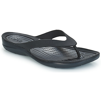 Sko Dame Flip flops Crocs SWIFTWATER FLIP W Sort