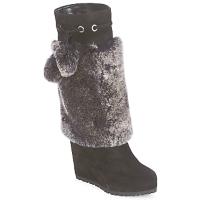 Sko Dame Chikke støvler Sebastian NIGOK Sort