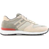 Sko Herre Lave sneakers Hogan HXM2610R676IHY0PD5 beige