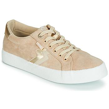 Sko Dame Lave sneakers MTNG ROLLING Beige
