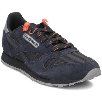 Sko Børn Lave sneakers Reebok Sport Classic Leather Sort