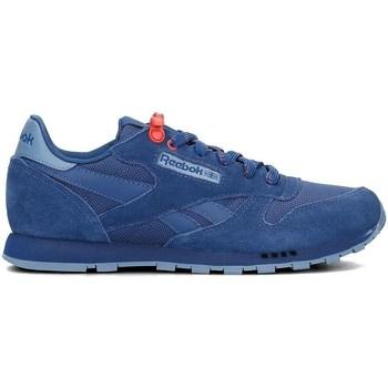 Sko Børn Lave sneakers Reebok Sport Classic Leather Blå