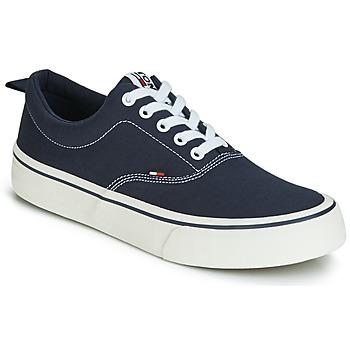 Sko Herre Lave sneakers Tommy Jeans VIRGIL 1D Sort