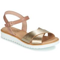 Sko Dame Sandaler Casual Attitude JALAYEDE Pink / Guld