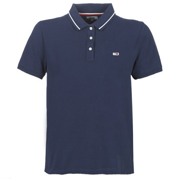 textil Dame Polo-t-shirts m. korte ærmer Tommy Jeans TJW TOMMY CLASSICS POLO Marineblå