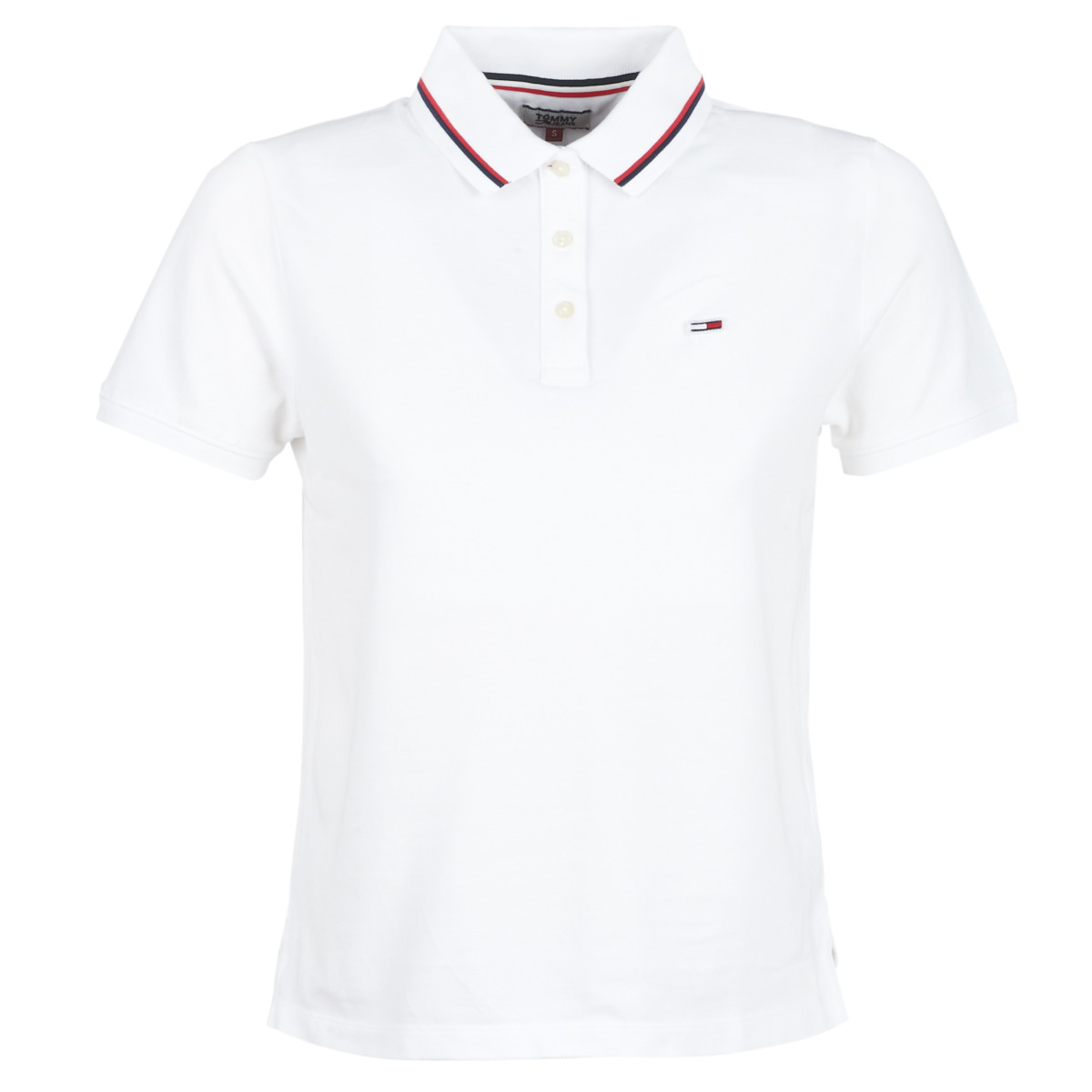 Polo-t-shirts m. korte ærmer Tommy Jeans  TJW TOMMY CLASSICS POLO