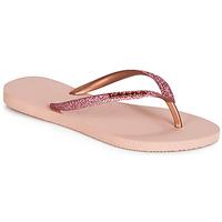 Sko Dame klipklapper  Havaianas SLIM GLITTER Pink