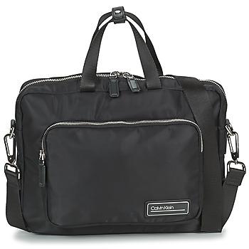 Tasker Herre Dokumentmapper Calvin Klein Jeans PRIMARY 1 GUSSET LAPTOP BAG Sort