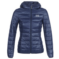 textil Dame Dynejakker Emporio Armani EA7 TRAIN CORE LADY LT DOWN JACKET Marineblå