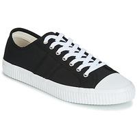 Sko Herre Lave sneakers Jim Rickey TROPHY Sort / Hvid