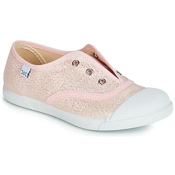 Sko Pige Lave sneakers Citrouille et Compagnie RIVIALELLE Pink / Metal