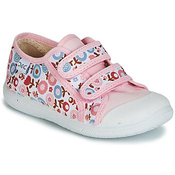 Sko Pige Lave sneakers Citrouille et Compagnie JORIPALE Pink / Rød