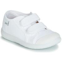 Sko Børn Lave sneakers Citrouille et Compagnie JODIPADE Hvid