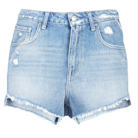 textil Dame Shorts Replay PABLE Blå / 010