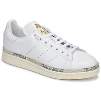 Sko Dame Lave sneakers adidas Originals STAN SMITH NEW BOLD Hvid