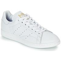 Sko Dame Lave sneakers adidas Originals STAN SMITH W Hvid