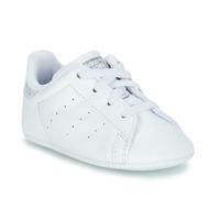 Sko Pige Lave sneakers adidas Originals STAN SMITH CRIB Hvid