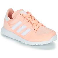 Sko Pige Lave sneakers adidas Originals OREGON Pink