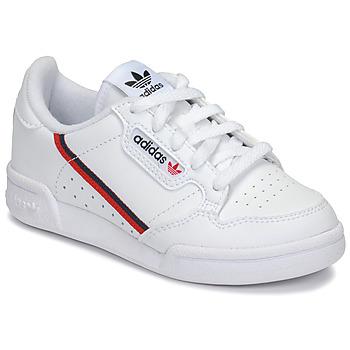 Sko Børn Lave sneakers adidas Originals CONTINENTAL 80 C Hvid