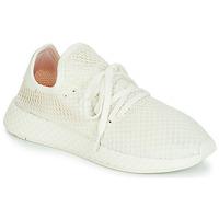 Sko Lave sneakers adidas Originals DEERUPT RUNNER Hvid